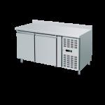 Banco refrigerato ventilato con alzatina 2200