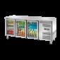 Banco refrigerato porta vetri 3104
