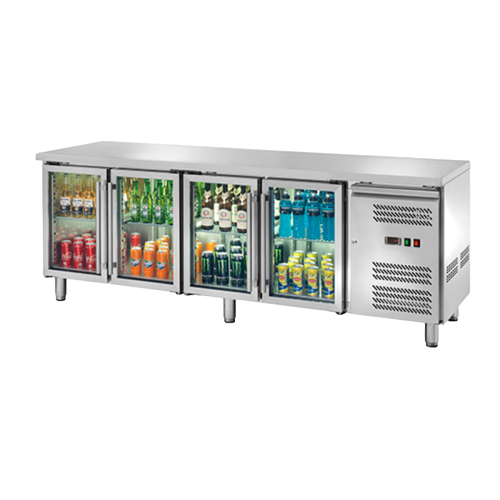 Banco refrigerato porta vetri 4104