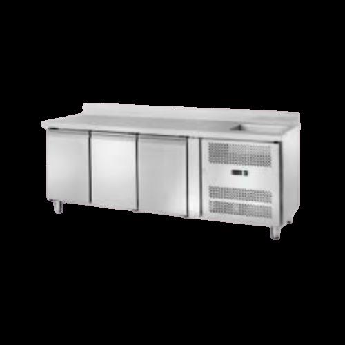 Banco refrigerato con lavello 3202