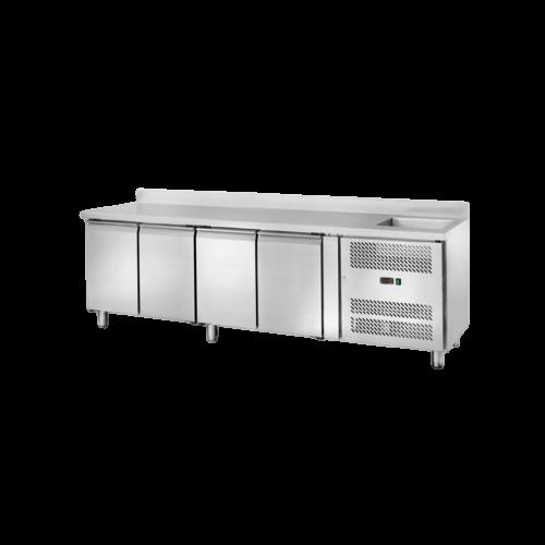 Banco refrigerato con lavello 4202