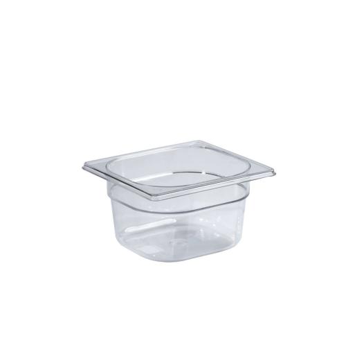 Contenitore Gastronorm GN 1/6 in policarbonato