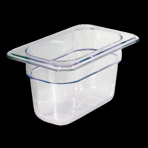 Contenitore Gastronorm 1/9 in policarbonato