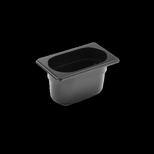 Contenitore Gastronorm 1/9 nero