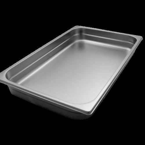 Contenitore Gastronorm 2/1 in acciaio inox