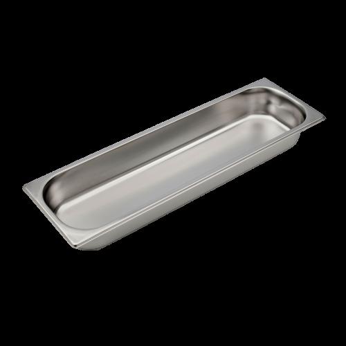 Contenitore Gastronorm 2/4 in acciaio inox