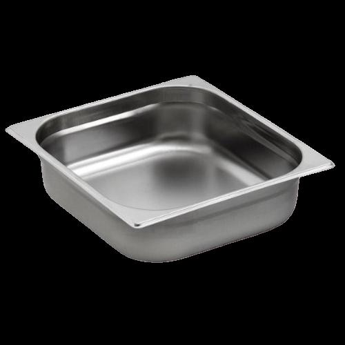 Contenitore Gastronorm 2/3 in acciaio inox
