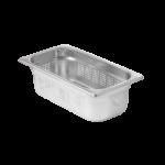 Contenitore Gastronorm 1/2 perforato in acciaio