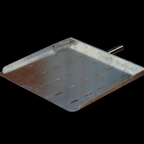 Pala/lastra in alluminio forato