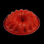 Tortiera silicone – Ciambella dentata