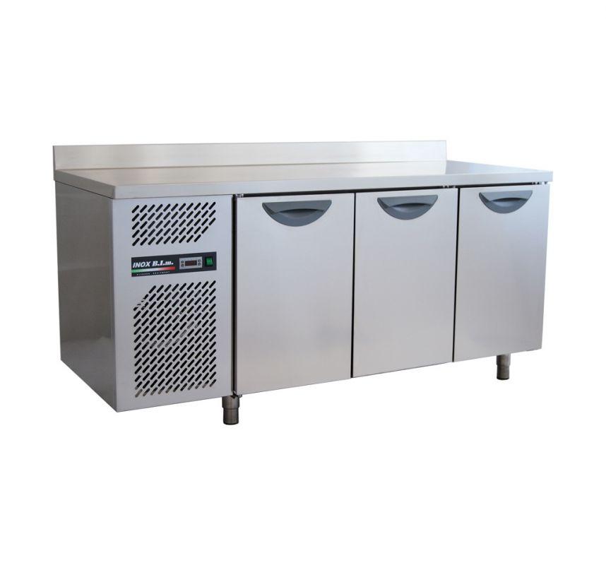 Tavolo refrigerato in acciaio inox profondità 700 ventilato con ...