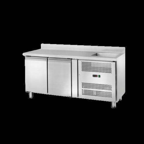 Banco refrigerato con lavello 2202