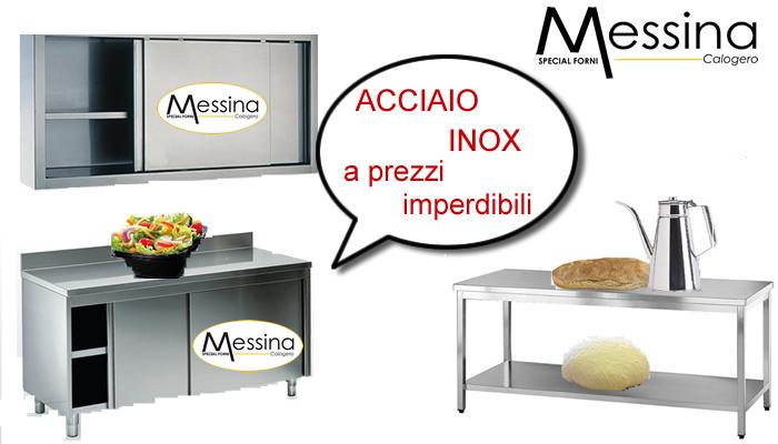 L 39 arredo inox luminoso pratico e funzionale for Arredo inox