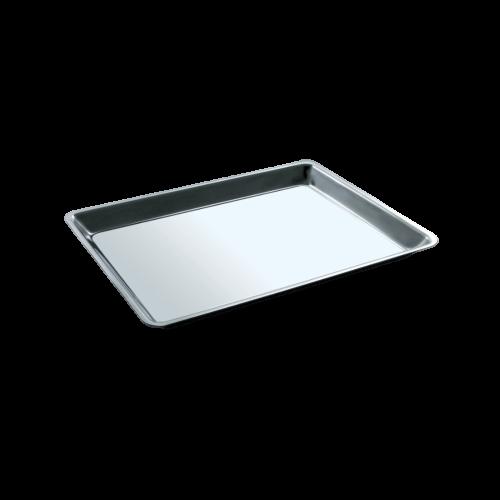 Vassoio da vetrina in acciaio