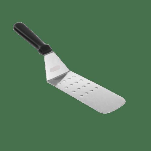 Spatola in acciaio flessibile forata