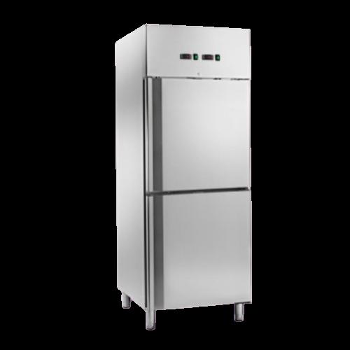 Armadio refrigerato ventilato doppia temperatura