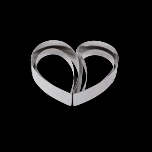Stampo semifreddo cuore strati 2